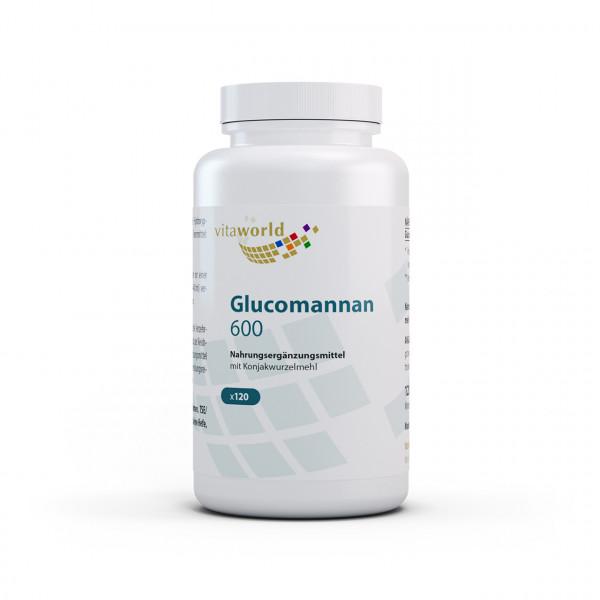 Glucomannan 600 (120 Kps)