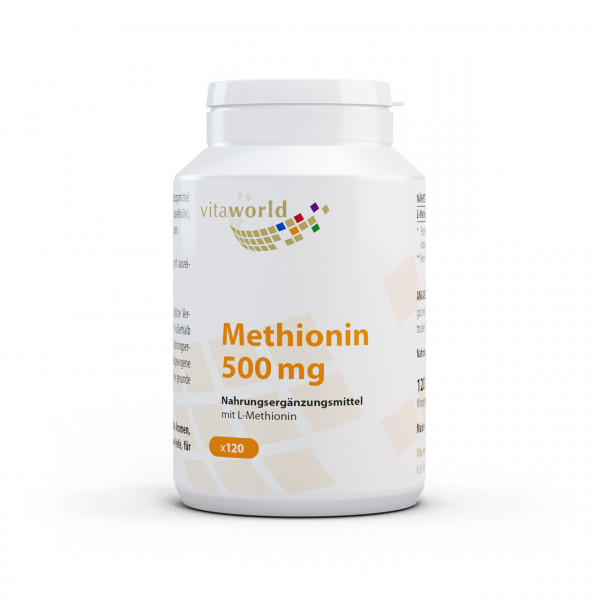 Methionin 500 mg (120 Kps)