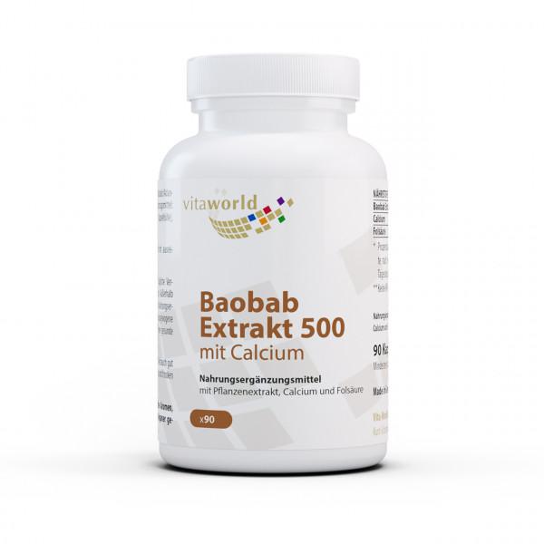Baobab Extrakt 500 (90 Kps)