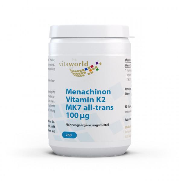 Menachinon Vitamin K2 MK7 (60 Kps)