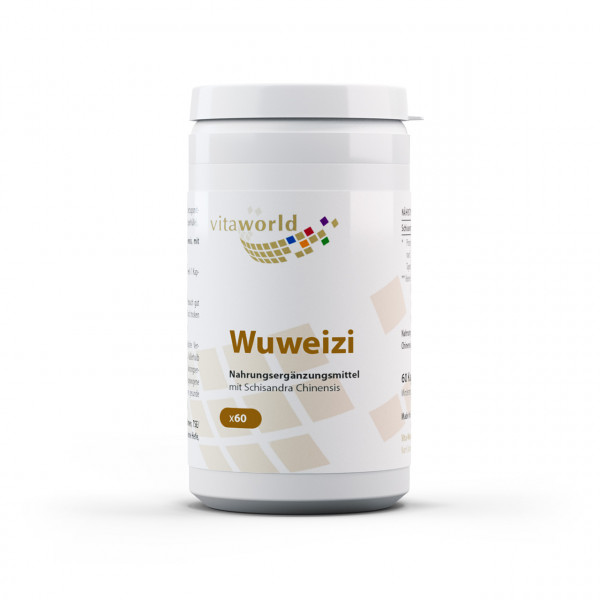 Wuweizi Schisandra 500 mg (60 Kps)