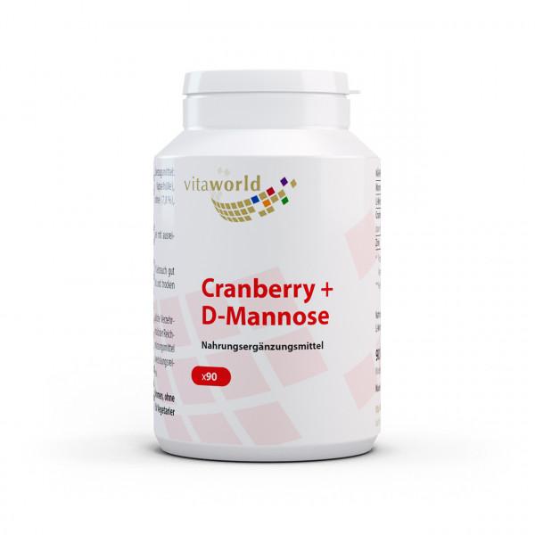 Cranberry + D-Mannose (90 Kps)