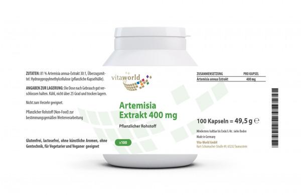 Artemisia Extrakt (100 Kps)