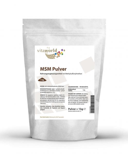 MSM Pulver (1 kg)