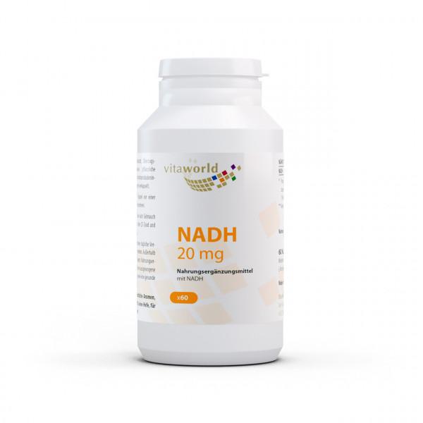 NADH 20 mg (60 Kps)