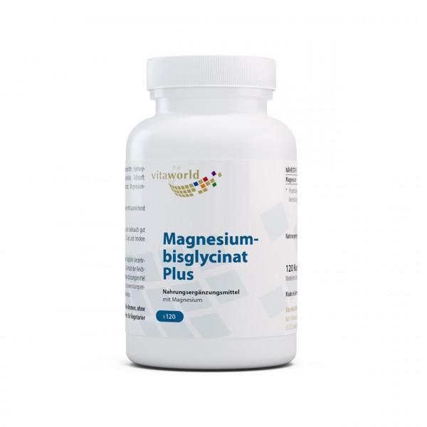 Magnesiumbisglycinat Plus (120 Kps)
