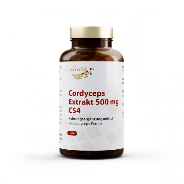 Cordyceps Extrakt 500 mg CS4 (100 Kps)