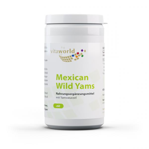 Yams 500 mg (60 Kps)