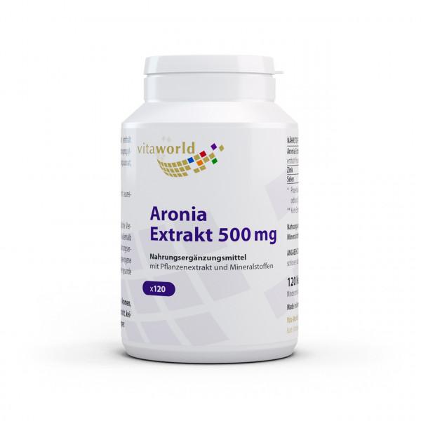 Aronia Extrakt 500 mg (120 Kps)