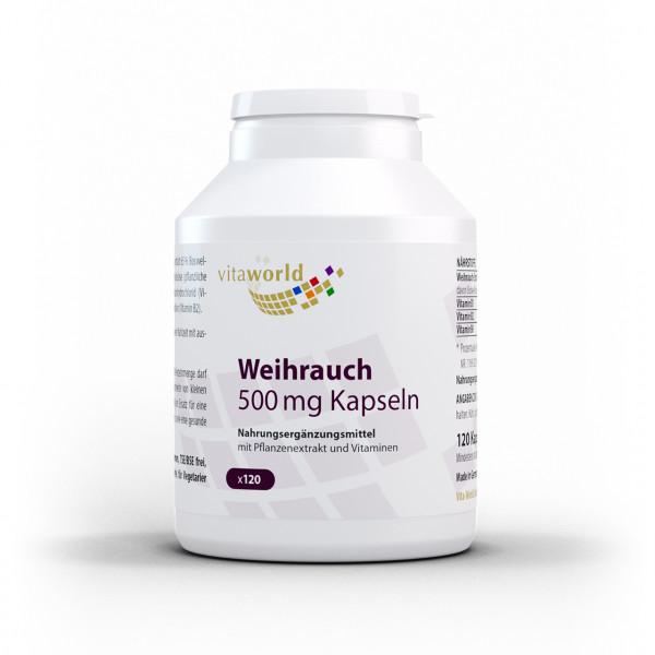 Weihrauch 500 mg (120 Kps)
