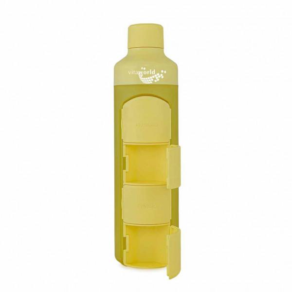YOS Health Bottle Weekly Gelb (375 ml)