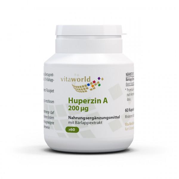 Huperzin A 200 µg (60 Kps)