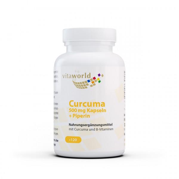 Curcuma 500 mg (120 Kps)