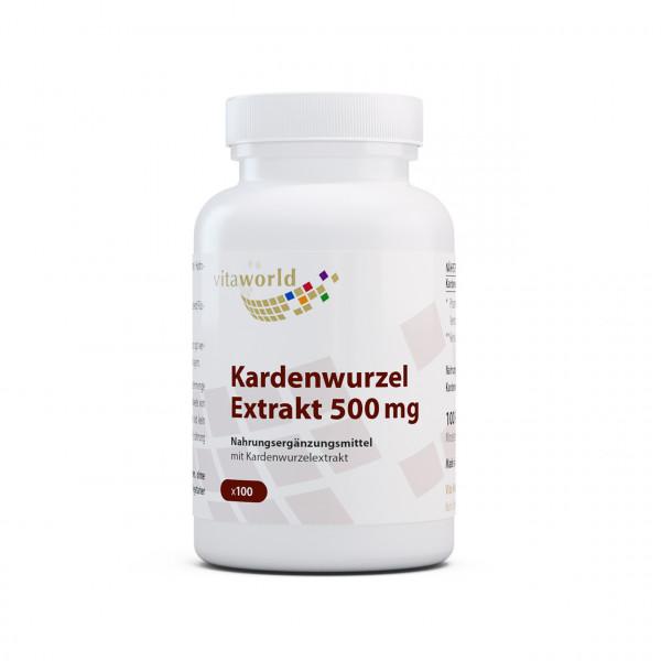 Kardenwurzel Extrakt 500 mg (100 Kps)
