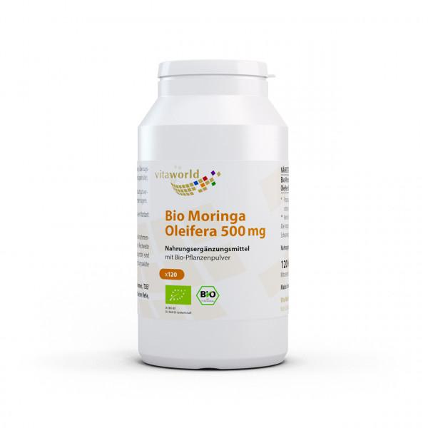 Moringa Oleifera 500 mg Bio (120 Kps)