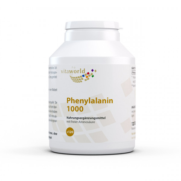 Phenylalanin 1000 mg (120 Tab)