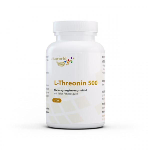 L-Threonin 500 (120 Kps)