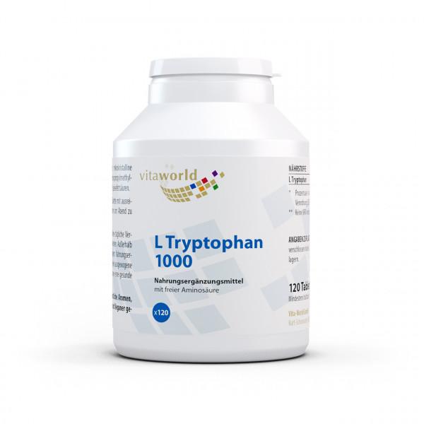 L-Tryptophan 1000 mg (120 Tbl)