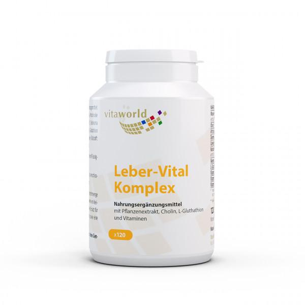 Leber-Vital Komplex (120 Kps)