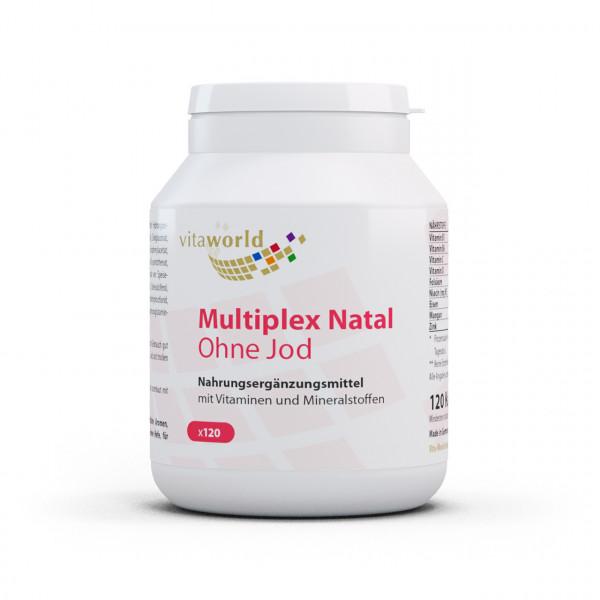 Multiplex Natal ohne Jod (120 Kps)