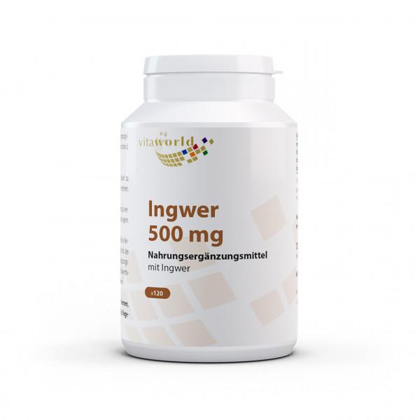 Ingwer 500 mg (120 Kps)