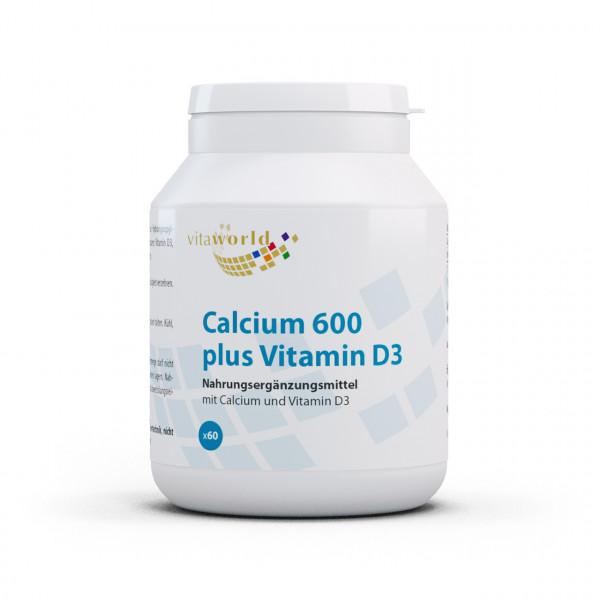 Calcium 600 plus Vitamin D3 (60 Tbl)